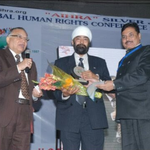Appointed as Ambassador of  peace, All India Human Right