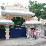 Eingangstor zum Ashram