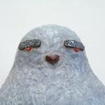 「たいこ の きおく」陶、発泡スチロール、カラーサンド/W1150×D1250×H680