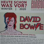BOWIE NIGHT im Hotel Ellington (10.01.2020)