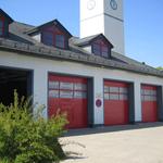 Stahl/Iso Sektionaltor für Feuerwehr