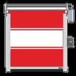 PVC-Behang 3-teilig mit Klarsichtfeld