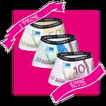 HB UOMO Pack 1 - 50, 20 en 10 euro