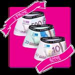 HB UOMO Pack 6 - 500, 200 en 100 euro
