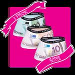 HB UOMO Pack 4 - 500, 20 en 10 euro