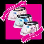HB UOMO Pack 3 - 200, 50 en 10 euro