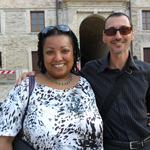 con Claudia Marss