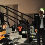 con Alessandro Haber