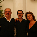 con Antonio Casagrande e Pina Cutolo