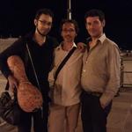 con Pierangelo Fevola e Pasquale Termini
