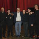 con Michele Placido