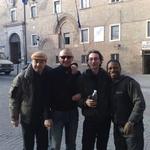 con Aldo Vigorito, Enzo Orefice e Roberthino Bastos
