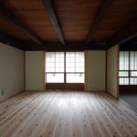 田の字の家・リビング