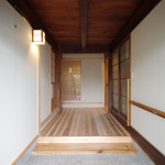 田の字の家・玄関