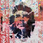 Che, 83 cm x 117 cm, Acryl und Aerosol auf Plakat