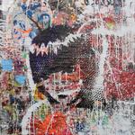 Emely the Strange, 83 cm x 117 cm, Acryl und Aerosol auf Plakat