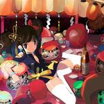 『ダルマの宴』さあ、みんな行ってらっしゃい! 2016年3月4日