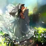 『二人だけが知ってる幸せ』たくさん咲いている白い花、その中のたった一輪の、一人の私。 私を選んでくれてありがとう。 2016年5月20日