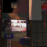 『ほこり』私を繋いでくれた家の、お人形さんも千羽鶴も折り紙で作られた鞠も、ほこりをかぶっていました。 2015年2月17日