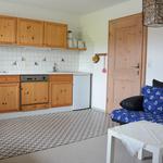 Wohnküche - Sicht auf Küchenzeile