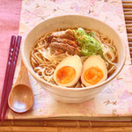Ramen, Chashu-pork and Ramen egg