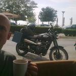Kaffeepäusle in Alexandropouli