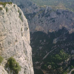 Das ist die schärfste Kante zwischen La Palud und Nizza !