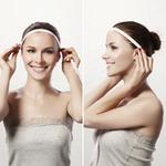 2. Расстояние от уха к уху по линии роста волос (измеряется по краевой линии роста волос на лбу от одного уха до другого).