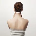 6. Ширина затылка по шее (измеряется по краевой линии роста волос на шее).