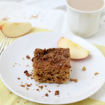 spiced apple cardamom cinnamon coffee cake