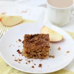 spiced apple cardamom cinnamon coffee cake