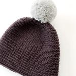 Mütze Hanna - gehäkelte Mütze in Strickoptik