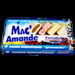 6 barres mac amande  6€90