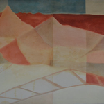 O.T., 2015-2016, Öl auf Leinwand, 105 X 145 cm