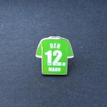 VFL Wolfsburg Trikot Pin Der 12. Mann - Saison 2016/2017