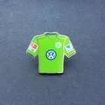 VFL Wolfsburg Trikot Pin home 2016/2017 mit Ligapatch und Hermes-Patch