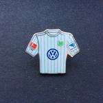 VFL Wolfsburg Trikot Pin away 2016/2017 mit Ligapatch und Hermes-Patch