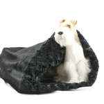 Susan Lanci Hundeschlafsack Black