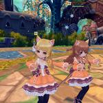向日葵の姉妹アイドルやぁ~( *´艸`)右、ティーネ 左、みもこと