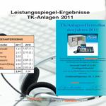 Auerswald Center München | Testsieger 2011 - 1. Platz - Ergebnisse 1/2