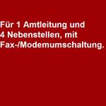 Auerswald ETS-1004 / Auerswald ETS-1004 FAX