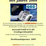 Auerswald Center München | Testsieger 2009 - 1. Platz - Urkunde