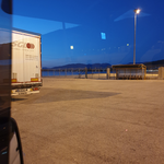 warten auf die Fähre nach Ancona