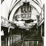Blick auf Orgel und Empore