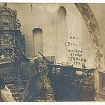 Nach dem Kirchenbrand 1911