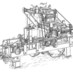 von James Albert Bonsack (1859 – 1924) (U.S. patent 238,640) [Public domain], via Wikimedia Commons | http://commons.wikimedia.org/wiki/File%3ABonsack_machine.png