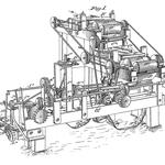 von James Albert Bonsack (1859 – 1924) (U.S. patent 238,640) [Public domain], via Wikimedia Commons | http://commons.wikimedia.org/wiki/File%3ABonsack_machine.png