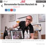 Biersommelier.Berlin -  Karsten Morschett - Online-Bierverkostung - B.Z