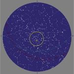 Solar time 1am: The Northern Cross and Eta Cygni