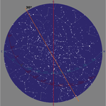 Solar time 1am: The Northern Cross 30° alignment